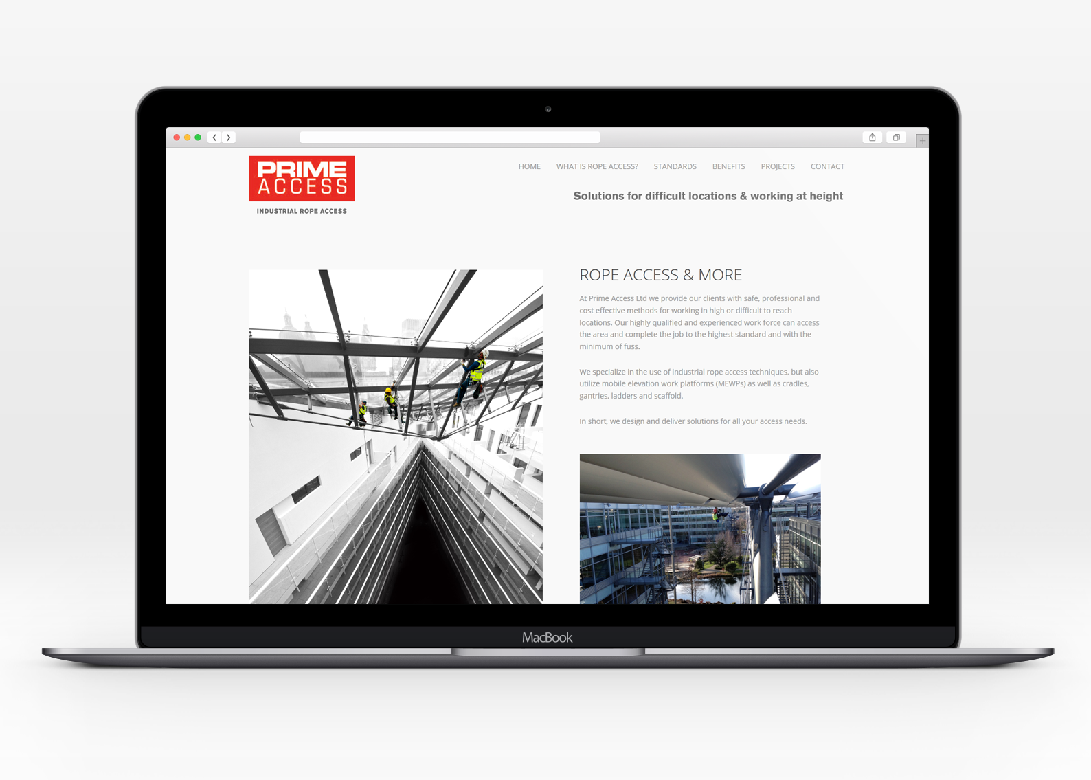 Web design for Prime Access